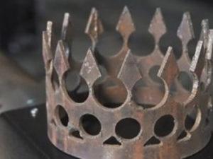 декоративные элементы из труб плазменная резка